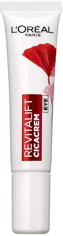 Крем для кожи вокруг глаз против морщин - L'Oreal Paris Revitalift Cicacream Anti-Wrinkle + Extra-Recovery Eye Cream — фото N1