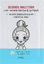 Духи, Парфюмерия, косметика Патчи для глаз и губ - A'pieu Hidden Solution Anti Wrinkle Gel Eye & Lip Patch