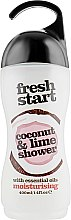 "Духи, Парфюмерия, косметика Увлажняющий крем-гель для душа ""Кокос и лайм"" - Xpel Marketing Ltd Fresh Start Coconut & Lime Shower Gel"