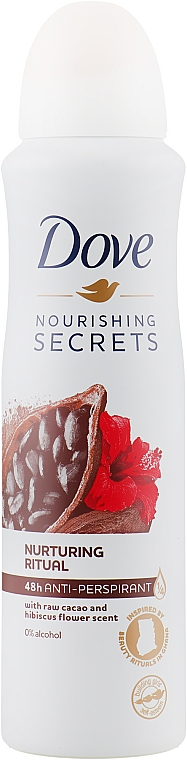 Дезодорант «Ритуал красоты. Питание» - Dove Nourishing Secrets