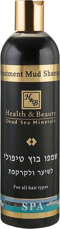 Шампунь с лечебными грязями Мертвого моря - Health And Beauty Treatment Mud Shampoo for Hair and Scalp