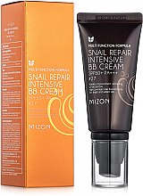 BB-крем с муцином улитки - Mizon Snail Repair Intensive BB Cream SPF50+ РА+++ — фото N1