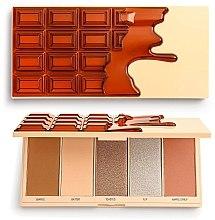 Духи, Парфюмерия, косметика Палетка для макияжа - I Heart Revolution Chocolate Face Palette Waffle