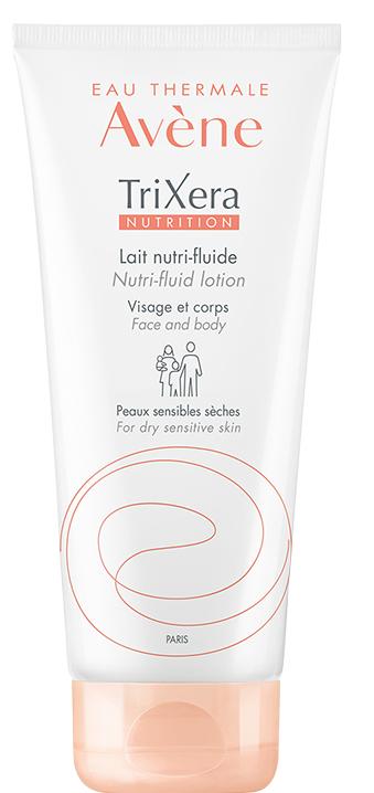 Легкое питательное молочко для лица и тела - Avene Trixera Nutrition Nutri-Fluid Lotion
