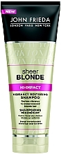 Духи, Парфюмерия, косметика Восстанавливающий шампунь для светлых волос - John Frieda Sheer Blonde Flawless Recovery Shampoo