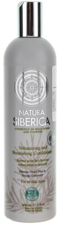 """Бальзам для всех типов волос """"Объем и уход"""" - Natura Siberica"""