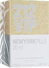 Духи, Парфюмерия, косметика Carolina Herrera 212 VIP New York Pills - Парфюмированная вода