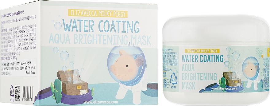 Маска ночная увлажняющая - Elizavecca Face Care Milky Piggy Water Coating Aqua Brightening Mask