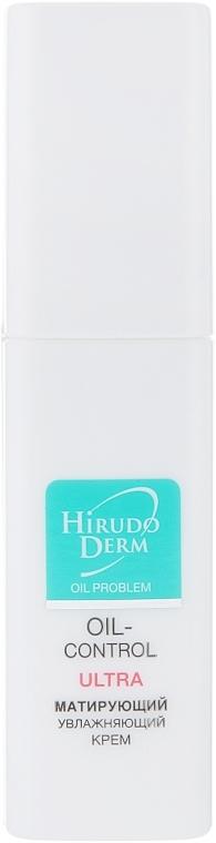 Увлажняющий матирующий крем - Hirudo Derm Oil Control Ultra — фото N7