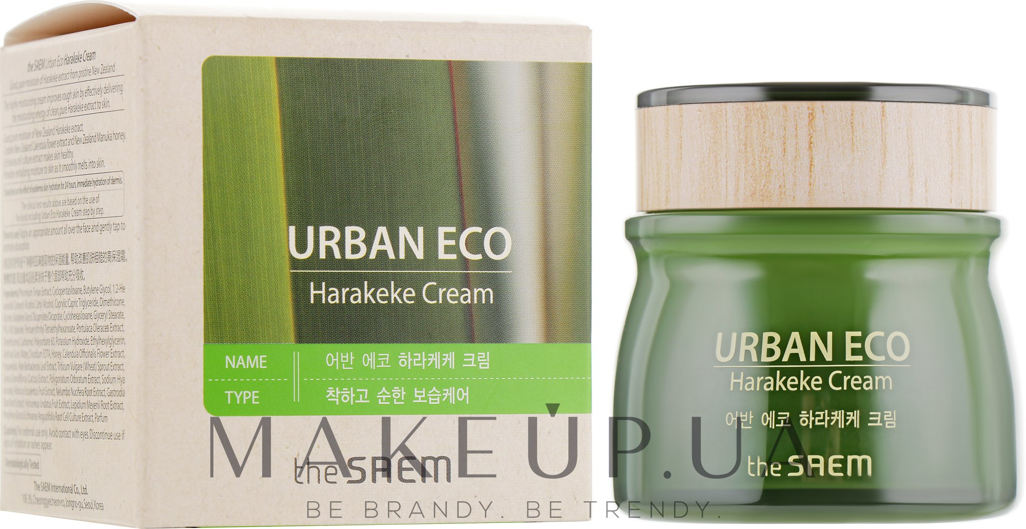 Питательный крем - The Saem Urban Eco Harakeke Cream — фото 60ml