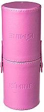 Духи, Парфюмерия, косметика Мини-тубус для хранения кистей, светло-розовый - Make Up Me