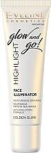 Духи, Парфюмерия, косметика Хайлайтер для лица - Eveline Cosmetics Highlight Glow And Go (тестер)