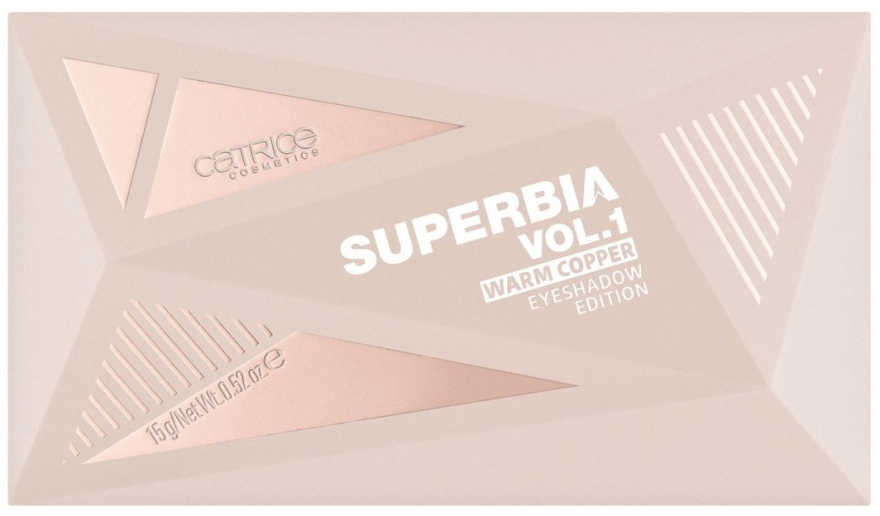 Палетка теней для век - Catrice Superbia Vol. 1 Warm Copper Eyeshadow Edition