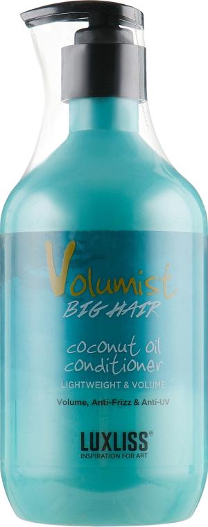 Кондиционер для объема с кокосовым маслом - Luxliss Volumist Conditioner