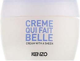 Духи, Парфюмерия, косметика Сияющий крем для лица - KenzoKi White Lotus Cream With A Sheen