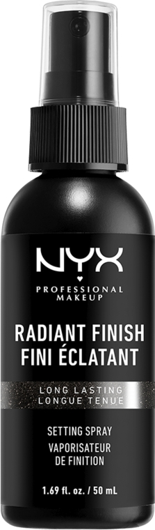 Фиксатор для макияжа с эффектом сияния - NYX Professional Makeup Radiant Finish Setting Spray Long Lasting