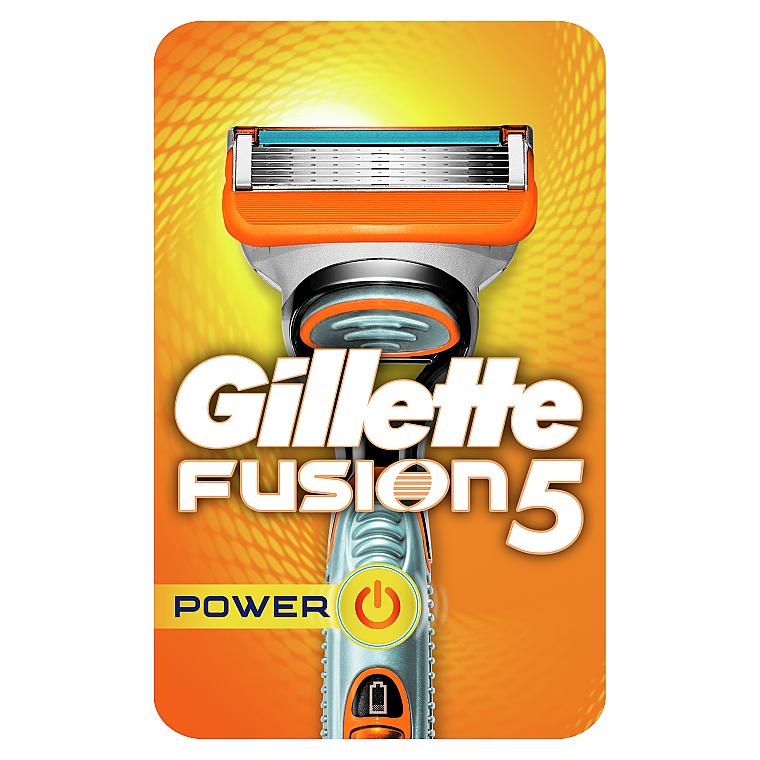 Бритва с 1 сменной кассетой - Gillette Fusion Power