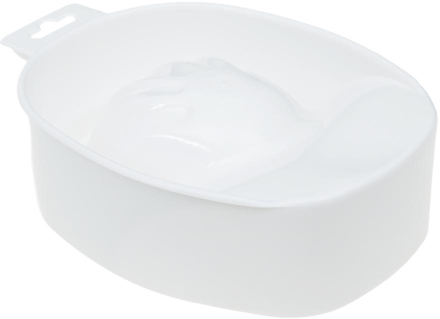 Ванночка для маникюра, белая - Avenir Cosmetics