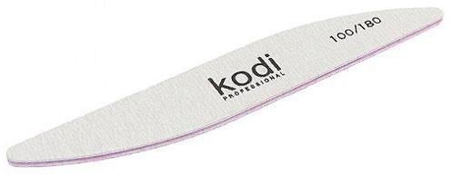 "Пилка для ногтей ""Бумеранг"" - Kodi Professional Gray, 100/180"