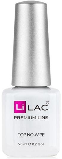 Глянцевый топ-закрепитель - LiLac Top Coat Protec no-wipe