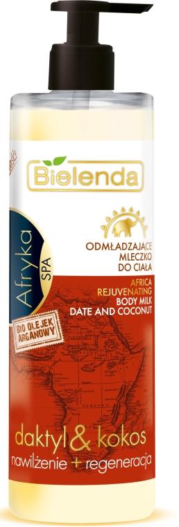 Молочко для тела - Bielenda Spa Afryka Date And Coconut Body Milk