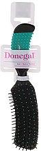 Духи, Парфюмерия, косметика Расческа для волос, 9011, зеленая - Donegal Curved Cushion Hair Brush