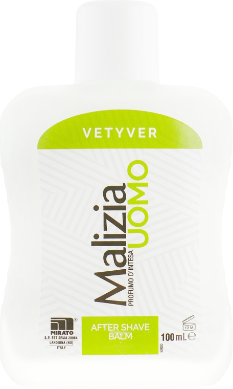 Бальзам после бритья - Malizia Vetyver Uomo — фото N2