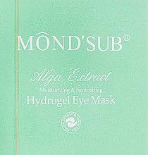 Парфумерія, косметика Гідрогелеві патчі для очей з колагеном і екстрактом водоростей - Mond'Sub Alga Extract Hydrogel Eye Mask