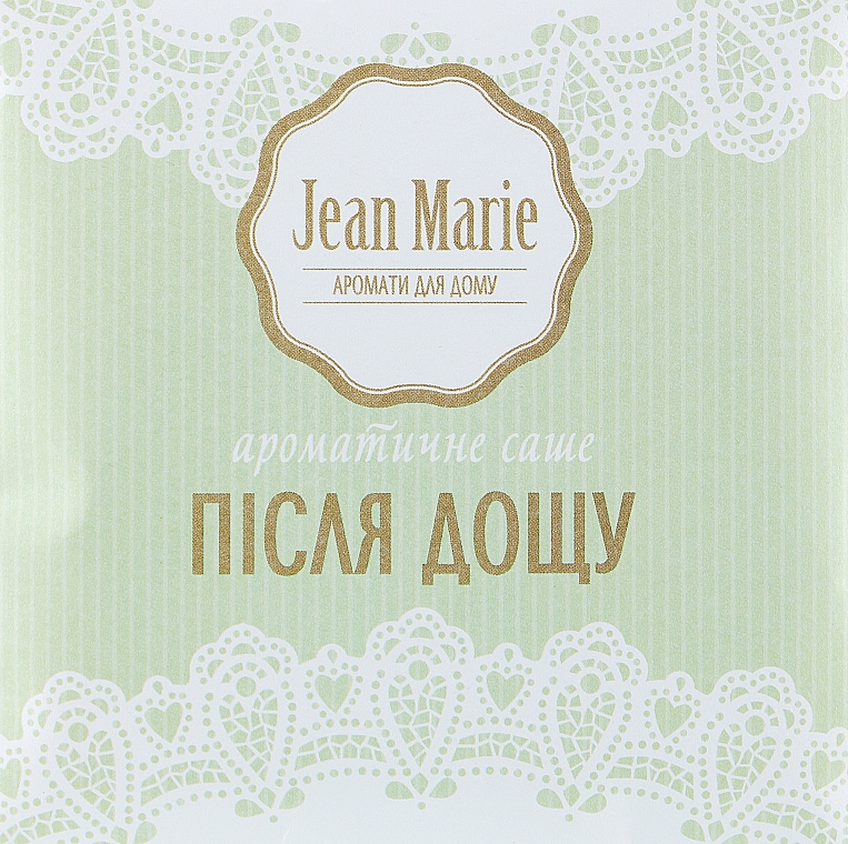 "Ароматическое саше ""После дождя"" - Jean Marie"