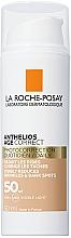 Духи, Парфюмерия, косметика Антивозрастное солнцезащитное средство с тонирующим эффектом для лица против морщин и пигментации, SPF50 - La Roche-Posay Anthelios Age Correct SPF50 Tinted