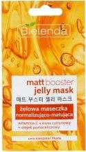 Духи, Парфюмерия, косметика Матирующая маска-гель для жирной и комбинированной кожи - Bielenda Matt Booster Jelly Mask