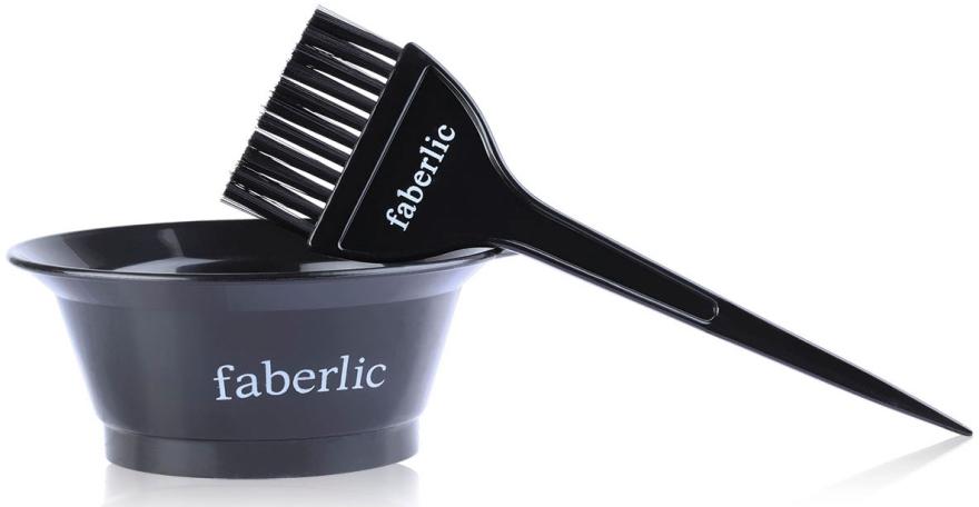 Набор для окрашивания волос (емкость+кисточка) - Faberlic