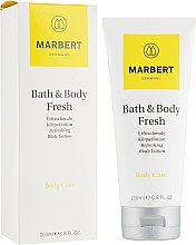 Духи, Парфюмерия, косметика Освежающий лосьон для тела с ароматом цитрусовых - Marbert Bath & Body Fresh Refreshing Body Lotion