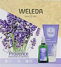 "Духи, Парфюмерия, косметика Набор ""Лаванда"" - Weleda Provence (sh/gel/200ml+b/oil/100ml)"
