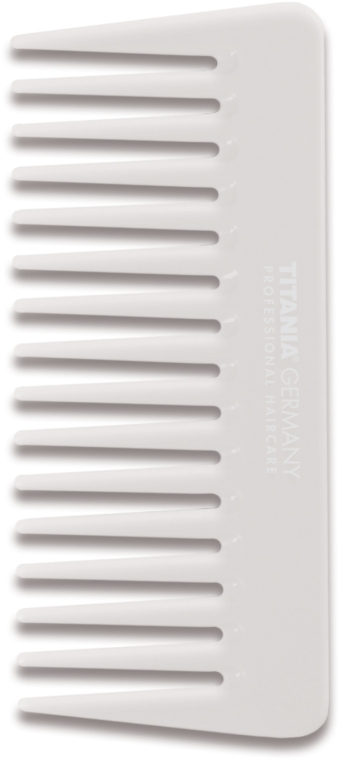 Гребень 14 см, белый - Titania