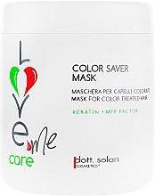 """Духи, Парфюмерия, косметика Маска для волос """"Сохранение цвета"""" - Dott. Solari Love Me Care Color Saver Mask"""