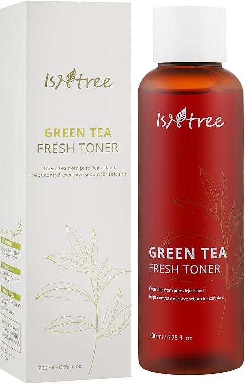 Освежающий тоник с экстрактом зелёного чая - IsNtree Green Tea Fresh Toner