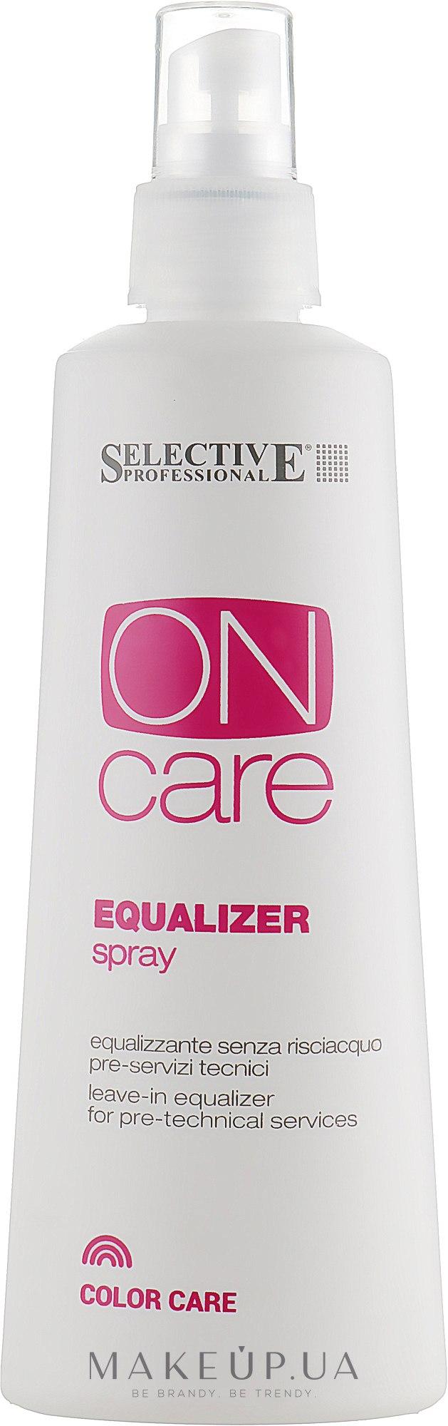 Спрей для выравнивания кутикулы - Selective Professional On Care Equalizer Spray — фото 250ml