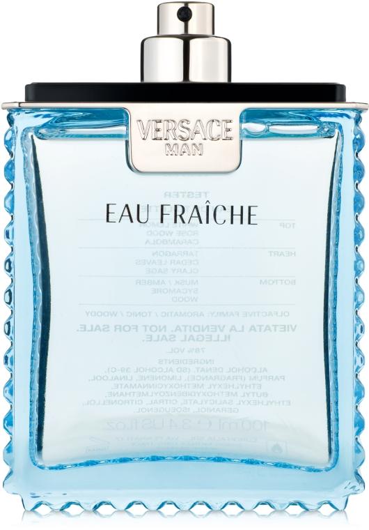 Versace Man Eau Fraiche - Туалетная вода (тестер без крышечки)