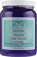 Парфумерія, косметика Мінеральний скраб для педикюру - CND Spa Pedicure Marine Sea Salt Scrub