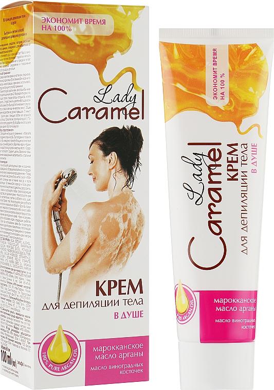 Крем для депиляции тела в душе - Caramel