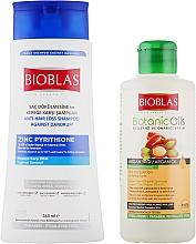 Духи, Парфюмерия, косметика Набор - Bioblas Zink Pyrithione Shampoo (shm/360ml + shm/150ml)