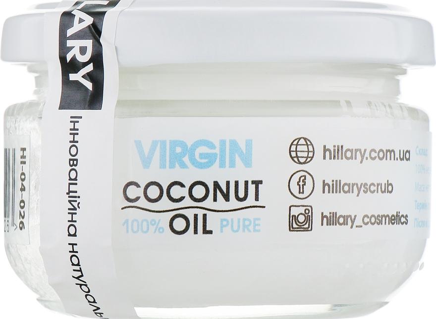 Нерафинированное кокосовое масло - Hillary Virgin Coconut Oil