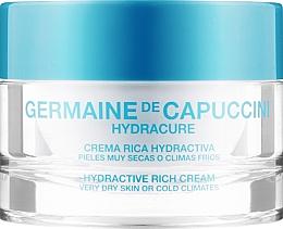 Духи, Парфюмерия, косметика Крем для очень сухой кожи - Germaine de Capuccini HydraCure Rich Cream Very Dry Skin