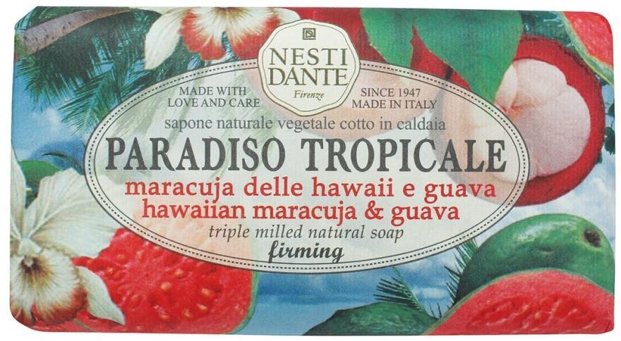 "Мыло ""Гуава и Маракуйя"" - Nesti Dante Paradiso Tropicale Hawaiian Maracuja & Guava Soap"