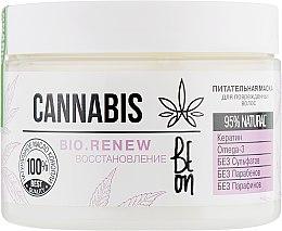 """Духи, Парфюмерия, косметика Питательная маска """"Восстановление"""" для поврежденных волос - Beon Cannabis Bio.Renew"""