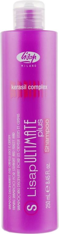 Шампунь с разглаживающим действием - Lisap Ultimate Plus Taming Shampoo