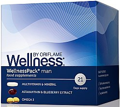 "Духи, Парфюмерия, косметика Комплекс ""Вэлнэс Пэк"" для мужчин - Oriflame Wellness Pack Man"