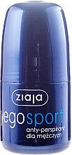 Духи, Парфюмерия, косметика Антиперспирант для мужчин - Ziaja Yego Sport Anti-Perspirant For Men