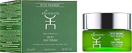 Духи, Парфюмерия, косметика Крем для лица дневной - Gli Elementi Detox Line Silky Day Cream
